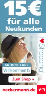 image185 Neckermann: 15 Euro Neukundengutschein (ab 25 Euro einlösbar)