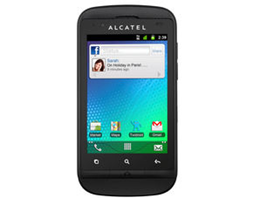 image321 Alcatel OT 918 Dual Sim Handy (Android 2.3, Touch Screen usw.) für 94,50 Euro