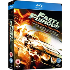 image323 [UK Import] Fast & Furious 1 5   The Collection [Blu ray] für 21,49 Euro