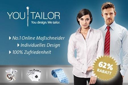 1273249346504 50 Euro Gutschein für Youtailor.de für 19 Euro