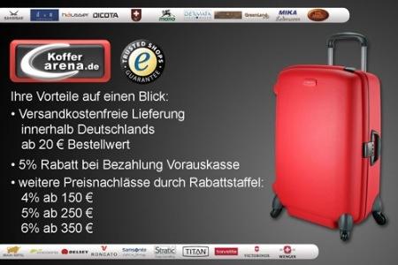 1277915332351 25 Euro statt 50 Euro   Hol Dir einen schicken Koffer für den nächsten Urlaubstrip bei Koffer Arena.de