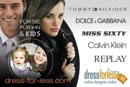 1285146089814 30€ Gutschein für dress for less zum Preis von 10€