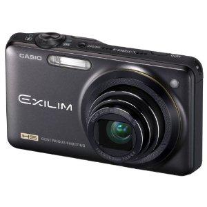 Casio Exilim EX-ZR10 Highspeed-Digitalkamera (12 Megapixel, 7-fach opt, Zoom, 7,6 cm (3 Zoll) Display, bildstabilisiert) schwarz