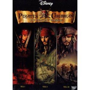 51d6olhnf3l. sl500 aa300  Fluch der Karibik   Teil 1 3 (3 DVDs) für 11,09€ incl. Versand