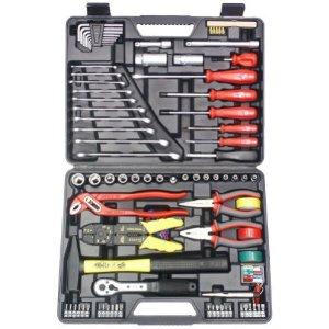 51kcoy6bwol. sl500 aa300  Famex 144 FX 55 57 Universal Werkzeugkoffer 168 tlg. für 49,99€