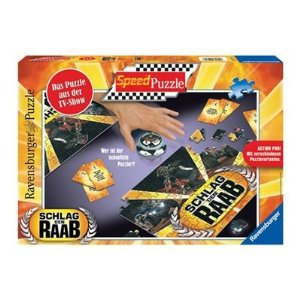 51prwlpboal. sl500 aa300  Schlag den Raab   Speedpuzzle 2 x 81 Teile ab 10,07€