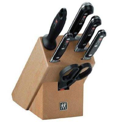 51q40f2aicl. ss400  ZWILLING Professional Messerblock, 7 tlg.  für 119,98€