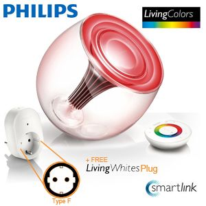6417 wn hi 1335969713 Philips Living Colors LED Lampe + Adapter Living White für 65,90 Euro