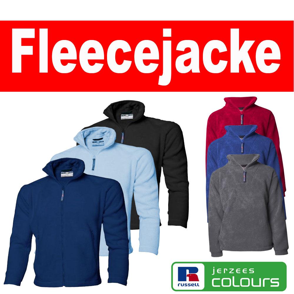 fleecejacken gal1 eBay WOW: Russell Fleecejacke für 11,99€ incl. Versand