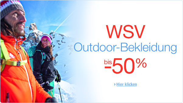 WSV Outdoor-Bekleidung bis -50%