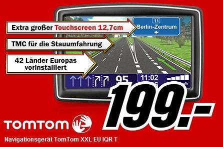 media markt tomtom xxl f r 199. Black Bedroom Furniture Sets. Home Design Ideas