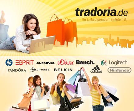 tradoria 03 [KNALLER] Bis 20Uhr: 30 Euro Tradoria Gutschein für 9,90 Euro