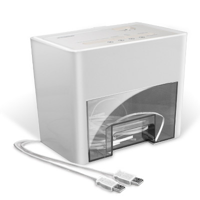 xusbsch popup Aktenvernichter (USB) + 25DVD Rohlinge + 8 Gratisartikel für 12,91€