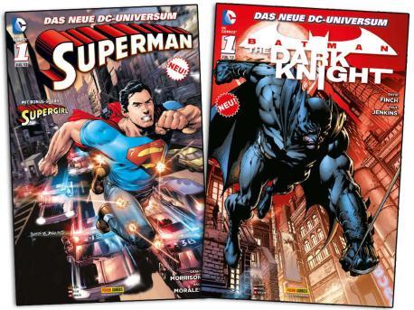 """""""Superman""""-""""Batman""""-COMICS bei BILD.de zu verschenken"""