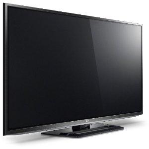 LG 50PM470S 127 cm (50 Zoll) 3D Plasma-Fernseher, Energieeffizienzklasse B (HD-Ready, 600Hz SFD, DVB-C/T/S, Smart TV) schwarz