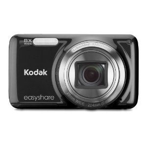 41exji64axl. sl500 aa300 1 Kodak EasyShare M583 Digitalkamera (14 Megapixel, 8 fach opt. Weitwinkelzoom, 7,6 cm (3 Zoll) Display) für 59,99€