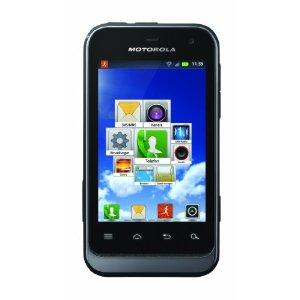 41nxxmlnb5l. sl500 aa300 1 Motorola Defy mini Smartphone (8,1 cm (3,2 Zoll) HVGA Touchscreen, 3 Megapixel Kamera, Android 2.3) für 107,07€