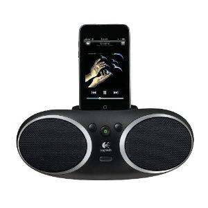 Logitech S135i Tragbarer Lautsprecher für iPod schwarz