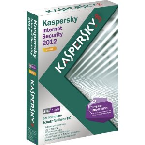 51eyehym13l. sl500 aa300  Kaspersky Internet Security 2012 (3 PCs) für 17,90€