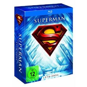 51nyqr3x6ql. aa300  Superman   Die Spielfilm Collection 1978 2006 [Blu ray] für 20,97€