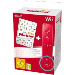 Wii Play: Motion (Spiel + Wii Plus Remote in Rot)
