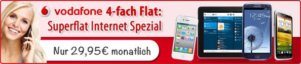 Vodafone SuperFlat Internet Spezial