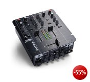 DJ Tech X10 2-Kanal Mixer (Audio-Interface, USB 2.0)