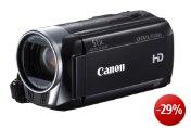 Canon LEGRIA HF R306 Full-HD Camcorder (HD-CMOS Sensor,7,6 cm (3 Zoll) Toch-LCD, 32-fach opt. Zoom, SDXC-Kartenslot, Intelligent IS) schwarz