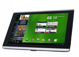 image140 Acer Iconia A501 Tablet PC (UMTS 25,6cm Tegra2 1GB, 16GB SSD, HDMI, Android 3.2 + Tasche) für 329€