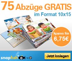 image143 Für Neukunden von Snapfish: 75 Fotoabzüge 10x15 für 2,95€ inkl. Versand