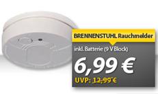 image148 Brennenstuhl Rauchmelder für 6,99€ inklusive Versand