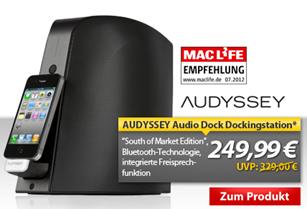 image68 Audyssey Audio Dockstation/Soundsystem für Apple iPhones für 249,99€