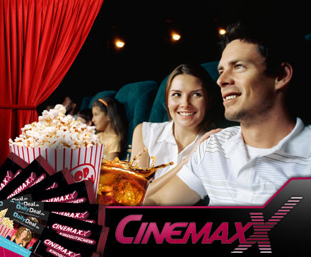 nat cinemaxx nurtickets multideal3 1 21 Für Neukunden von Dailydeal: 5 x Cinemaxx Ticket für 24,90€ (4,98€/Ticket)
