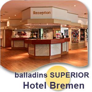 ow3434 00 hotel1 3 Tage (2 Übernachtungen) für 2 Personen im 4* Hotel in Bremen inkl. Frühstück für 79€