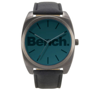 Bench Men's Oversized Blue Dial Watch