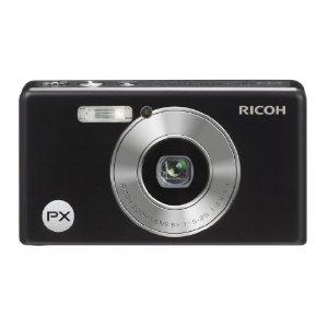 Ricoh PX Digitalkamera (16 Megapixel, 5-fach opt. Zoom, 6,9 cm (2,7 Zoll) Display, bildstabilisiert, 3m wasserdicht) schwarz