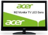 Acer M242HML 61 cm (24 Zoll) LED Monitor-TV, Energieeffizienzklasse B (VGA, HDMI, SCART, S-Video, 5ms Reaktionszeit, DVB-T/C) schwarz