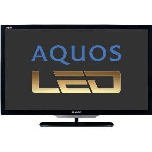 Sharp LC46LE542E 117 cm (46 Zoll) LED-Backlight-Fernseher, Energieeffizienzklasse A+ (Full-HD, 100Hz, DVB-T/C/S2, InternetTV) schwarz