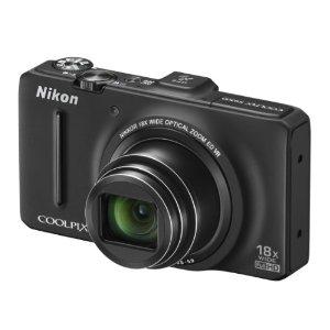 Nikon Coolpix S9300 Digitalkamera (16 Megapixel, 18-fach opt. Zoom, 7,5 cm (3 Zoll) Display, bildstabilisiert, GPS) schwarz
