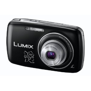 Panasonic DMC-S3EB-KA Digital Camera Olympic Version - Black
