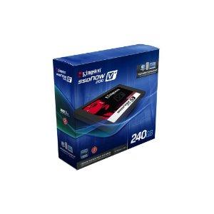 Kingston SVP200S37A/240G interne SSD-Festplatte 240GB (6,4 cm (2,5 Zoll), SATA III) schwarz