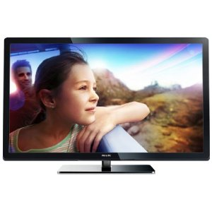 Philips 32PFL3017H/12 81 cm (32 Zoll) LCD-Fernseher, Energieeffizienzklasse B (Full-HD, 100Hz PMR, DVB-T/C, CI+) schwarz