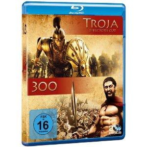 300 & Troja (2 Discs) [Blu-ray]