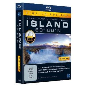Island 63° 66° N - Eine phantastische Reise durch ein phantastisches Land [Blu-ray] [Limited Edition]