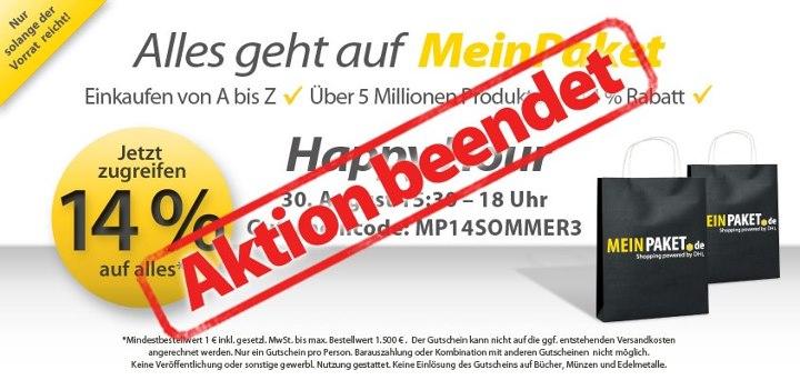 545975 459094114131199 1260153318 n [Nur bis 18Uhr] 14% auf Alles bei Meinpaket.de