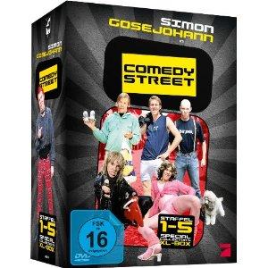 Comedy Street - Staffel 1-5 (6, Discs, XL Collector's Box)