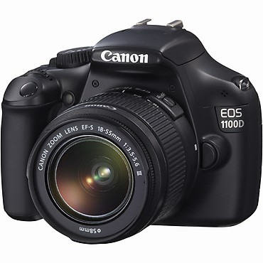 canon digitale Spiegelreflexkamera EOS 1100D (Kit)
