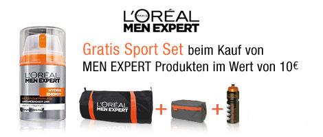 LOréal Men Expert Aktion: gratis Sport Set