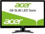 Acer G226HQLBbii 55,9 cm (22 Zoll) Slim LED-Monitor (VGA, 2xHDMI, 5ms Reaktionszeit) schwarz
