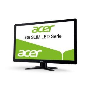 Acer G246HLBbid 61 cm (24 Zoll) Ultra Slim LED-Monitor (LED, VGA, DVI, HDMI, 2ms Reaktionszeit) schwarz